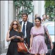 Jenifer Lopez et Lyndia : shopping à milan