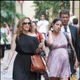 Jenifer Lopez et sa soeur Lynda : shopping à milan