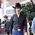 Matthew McConaughey méconnaissable sur le tournage de The Dallas Buyers Club, le 17 décembre 2012