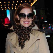 Jessica Chastain et Katie Holmes : Deux beaux sourires pour illuminer Broadway