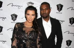 Kim Kardashian enceinte : Nouvel An en amoureux avec Kanye West à Las Vegas !