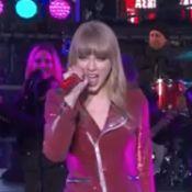 Taylor Swift offre un vrai spectacle à Times Square avec PSY et Carly Rae Jepsen