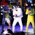 PSY et MC Hammer pour le concert du Nouvel An à Times Square, le 3 décembre 2012.