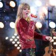 Taylor Swift au concert du Nouvel An à Times Square, le 31 décembre 2012.