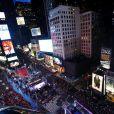 Concert du Nouvel An à Times Square, le 31 décembre 2012.