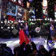 Carly Rae Jepsen au concert du Nouvel An à Times Square, le 31 décembre 2012.