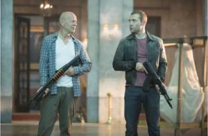 Bruce Willis et son fils : Belle journée pour mourir chez Gérard Depardieu