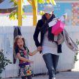 Halle Berry est allée chercher sa fille à l'école le 8 janvier 2013