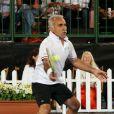 Mansour Bahrami lors du World Tennis Challenge à Adelaide le 8 janvier 2013