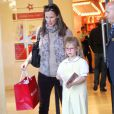 La jolie Jennifer Garner et sa fille Violet font du shopping, le 8 janvier 2013 à Los Angeles
