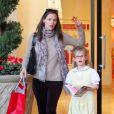 Jennifer Garner et sa fille Violet font du shopping, le 8 janvier 2013 à Los Angeles