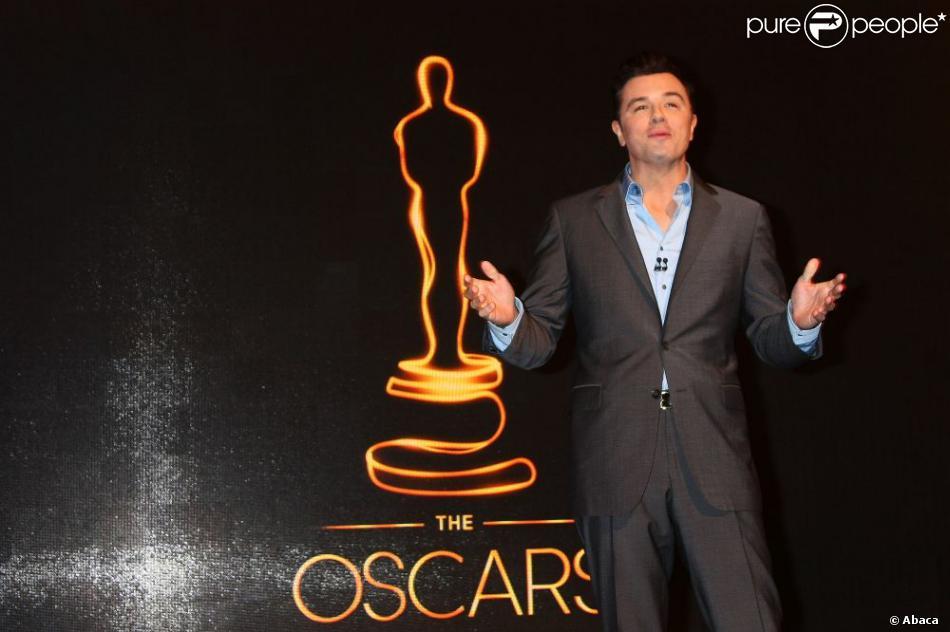 Seth MacFarlane va annoncer les nommées aux Oscars 2013,  le 10 janvier.