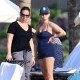 Reese Witherspoon passe le début d'année au soleil à Hawaï avec sa petite famille. Le 2 janvier 2013.