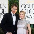 Kristen Bell et Dax Shepard à la 70e cérémonie des Golden Globes. A Los Angeles le 13 janvier 2013.