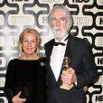Michael Haneke et sa femme à la soirée HBO Golden Globe Awards After Party au Beverly Hilton Hôtel de Los Angeles, le 13 janvier 2013.