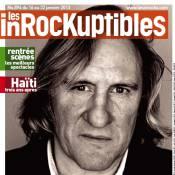 Gérard Depardieu enterré par Les Inrockuptibles : la une choc !