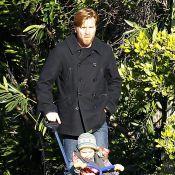 Ewan McGregor : Balade en tricyle pour sa fille Anouk