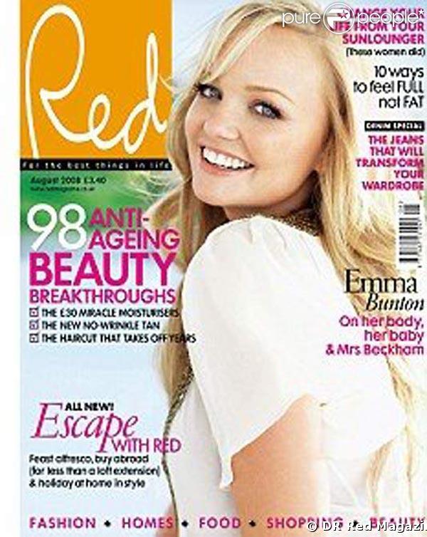 Emma Bunton pour Red Magazine