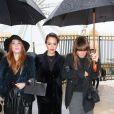 Jessica Alba arrive au défilé Haute Couture de la maison Dior le 21 janvier 2013