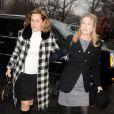 Diandra Luker, ex-femme de Michael Douglas, arrivant au tribunal à New York pour la nouvelle condamnation de son fils Cameron Douglas le 21 décembre 2011