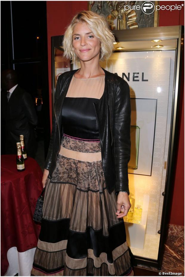 Alice Taglioni lors du dîner d'ouverture du Festival de Deauville 2012