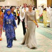 Princesse Maxima : Eclatante à Brunei, presque trop...
