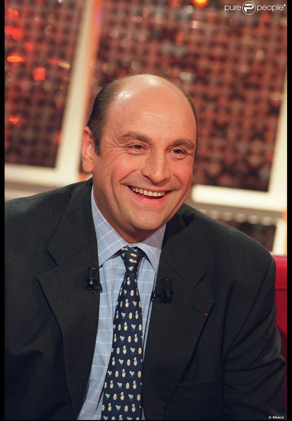 Bernard Loiseau lors de l'enregistrement de Vivement dimanche, le 22 novembre 2000 à Paris.