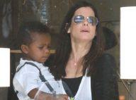 Sandra Bullock : Maman célibataire en virée shopping avec son adorable Louis