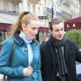 """Florence Cassez de retour à Paris a rejoint Melissa Theuriau au restaurant """"La Grande Armée"""" a Paris, le 25 janvier 2013"""