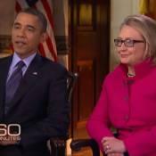 Hillary Clinton, rétablie et avec de nouvelles lunettes : Barack Obama l'encense