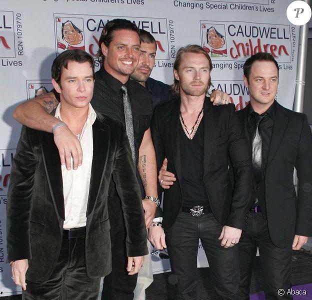 Les Boyzone en 2008