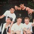 Stephen Gately, Shane Lynch, Keith Duffy, Ronan Keating et Mikey Graham en 1994.