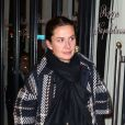 Caroline Sarkozy lors de l'anniversaire de Nicolas Sarkozy le 28 janvier 2013 au restaurant Giulio Rebellato à Paris