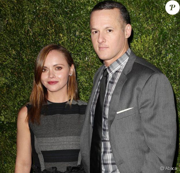 Christina Ricci et son compagnon boyfriend James Heerdegen le 4 décembre 2012 à New York