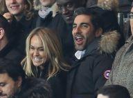 Cécile de Ménibus et Ary Abittan : Complicité et sourires face au PSG conquérant