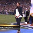 Jennifer Hudson s'était déjà produite en 2009 lors de la finale du Super Bowl.