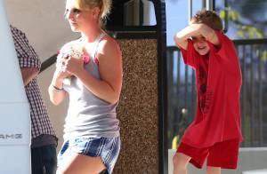 Britney Spears, ses fils et son chien : Visite chez le véto avant Las Vegas...