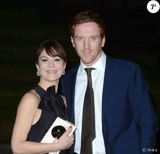 Damian Lewis et Helen McCrory lors des London Evening Standard British Film Awards dans la capitale britannique le 4 février 2013