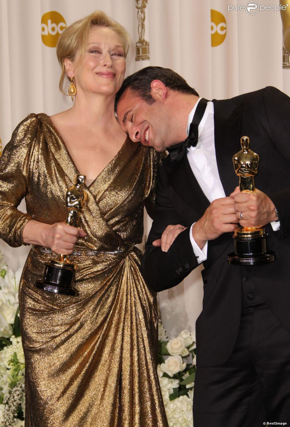 Meilleure actrice et meilleur acteur l'an dernier, Meryl Streep et Jean Dujardin seront de retour pour remettre un prix.