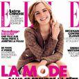 Emma Watson superbe en couverture du magazine Elle du 8 février 2013.