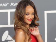 Grammy Awards 2013 : Rihanna, sublime héroïne et showgirl devant Chris Brown