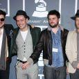Mumford & Sons à la 55e cérémonie des Grammy Awards, à Los Angeles, le 10 février 2013.