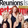 Les acteurs de Melrose Place en 2012 en couverture de  Entertainment Weekly .