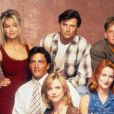 Les acteurs de Melrose Place en 1993.