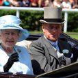 La Reine Elizabeth et le Prince Philip d'Edimbourg