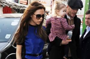 David Beckham : Ses garçons et la petite Harper heureux de retrouver leur papa