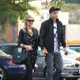 Paris Hilton et son petit ami River Viiperi dans les rues de Los Angeles, le 7 février 2013.