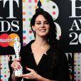 Lana Del Rey, Artiste féminine internationale de l'année aux Brit Awards le 20 février 2013.