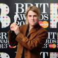 Tom Odell with the Critics' Choice award in the press room at the 2013 Brit Awards at the O2 Arena, London, UK, February 20, 2013. Photo by Ian West/PA Wire/ABACAPRESS.COM21/02/2013 - London