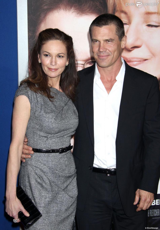 Diane Lane et Josh Brolin à la première du film The Guilt Trip à Los Angeles, le 11 décembre 2012.